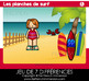 French Game - Find the 7 Differences SUMMER