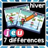 French Winter Activity | Game for winter| Jeu pour l'hiver | HIVER français