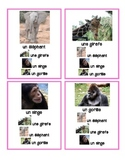 French Game: Quatuors (6 sets) - Zoo Animals