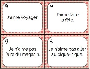 """French Game & Task Cards - Agree and Disagree (""""Moi Aussi, Moi Non Plus"""" etc.)"""