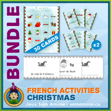 French Christmas Noël • Booklets, Bingo & Card Games Bundle