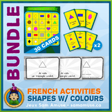 French Shapes with Colours • Booklets, Bingo & Card Games