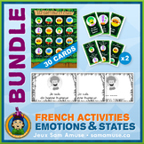 French Emotions & States • Booklets, Bingo & Card Games Bu