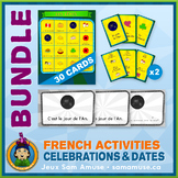 French Celebrations • Booklets, Bingo & Card Games Bundle
