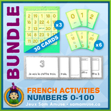 French Numbers 0 to 100 • Booklets, Bingo & Card Games Bun