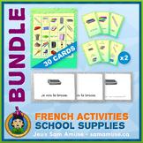 French School Supplies • Booklets, Bingo & Card Games Bund