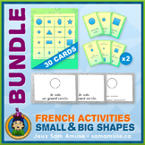 French Shapes • Booklets, Bingo & Card Games Bundle • Abst