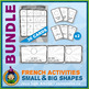 French Games & Activities - Shapes - Circus