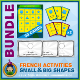 French Shapes • Booklets, Bingo & Card Games Bundle • Circ