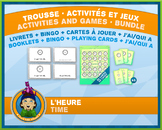 French Reading Time • Booklets, Bingo & Card Games • Abstr