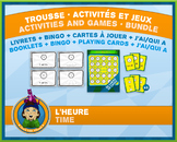 French Reading Time • Booklets, Bingo & Card Games • Circus Theme