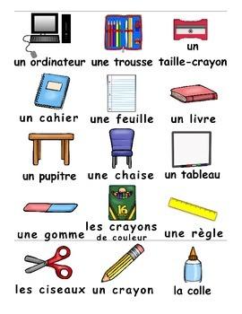 Back to School / La rentrée FRENCH Games
