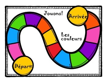 French Games for Learning ~ Les couleurs