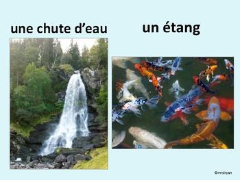 French – Geographical Features – Éléments géographiques – Presentation