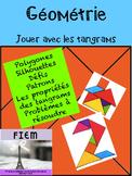 French: Géométrie: LES TANGRAMS: les polygones, Primary