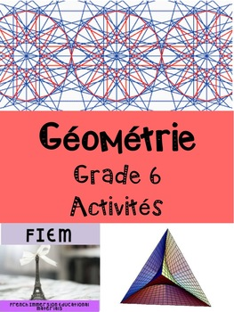 French: Géométrie: Quiz, Grade 6