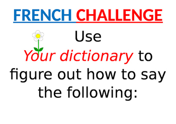 French, German and Spanish quick conjugation challenges