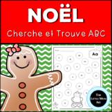 French Gingerbread Alphabet Letter Find | Christmas Activity | Cherche et Trouve