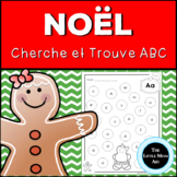 French Gingerbread Alphabet Letter Find | Christmas Activi