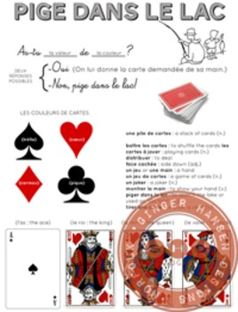 French Go Fish! or Pige le lac!