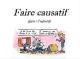 French Grammar: Causative Faire (Faire causatif) - Notes,E