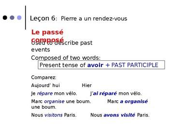 French Grammar - Lecon 6 DF Blanc