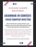 French Grammar in Context: Passé Composé with Être
