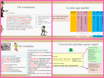 French grammar tenses bundle
