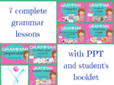 French grammar tenses bundle interactive activities and pr