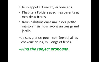 French Grammatical Terms.