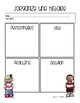 French Graphic Organizers for Story Writing