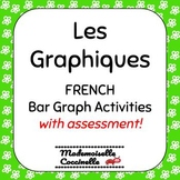 FRENCH Math Centres - Graphing Activities / Les Graphiques