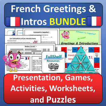 French Greetings BUNDLE