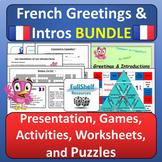 French Greetings BUNDLE