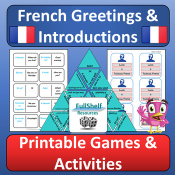 French Greetings Games