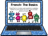 French, Greetings and Dialogue: 2 Presentations, video and worksheet