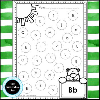 French Groundhog Day Alphabet | Groundhog Day Activity | Journée de la Marmotte