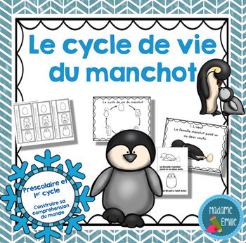 French Growing BUNDLE Life cycles / Cycles de vie {Ensemble grandissant}