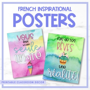 French Growth Mindset Posters - Volume III
