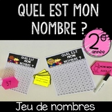 """French """"Guess my number""""  Numbers Game (Number Sense)"""