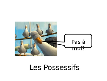 """French Guided Notes on Possessive """"Their"""""""