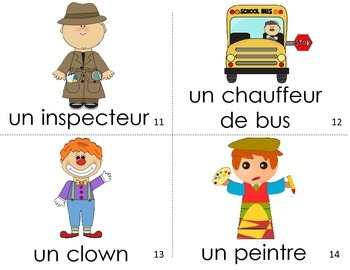 French Guided Reading People