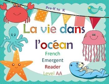 French Guided Reading la vie dans l'ocean