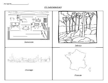 French Habitat Lesson