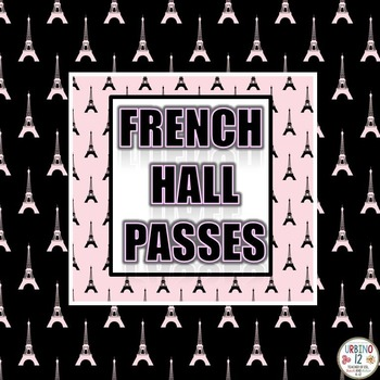 French Hall Passes