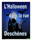 French Reading Comprehension Activity (Halloween)