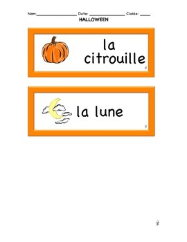 HOLIDAY LESSON: French Halloween