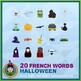 French Halloween • 3 Reading & Writing Booklets
