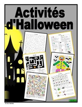 French Halloween Activities