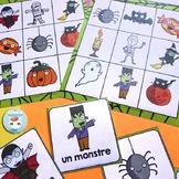 French Halloween Bingo - Activité pour Halloween French | français
